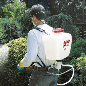 4. Herbicide Application - Solo Knapsack used to apply herbicide to forest, woodland and landscapes